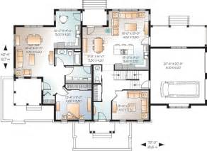 House Plans With In Suites by In Suite On Floor 21765dr 1st Floor