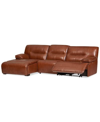 leather power reclining sectional sofa with chaise closeout beckett 3 pc leather sectional sofa with chaise