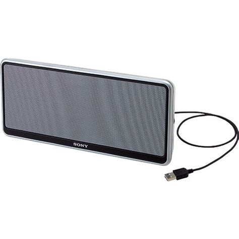 sony vaio portable speaker usb vgp usp1 vgpusp1 b h photo