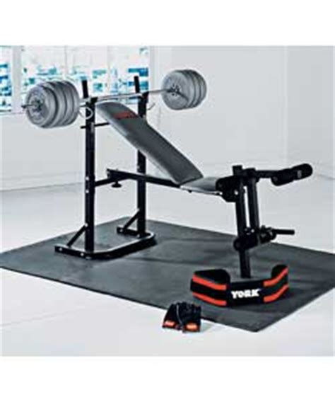 bench and weights package folding bench