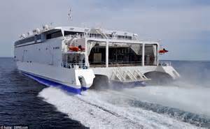 catamaran indian meaning condor s 163 50m high speed ferry in dorset after sailing 10k