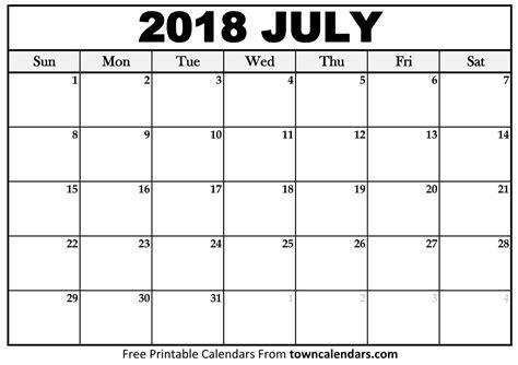 printable calendar july 2018 july 2018 calendar larissanaestrada com