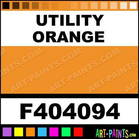 utility orange model metal paints and metallic paints f404094 utility orange paint utility