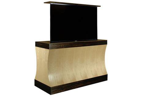tv lift cabinet design custom modern motorized tv lift cabinet