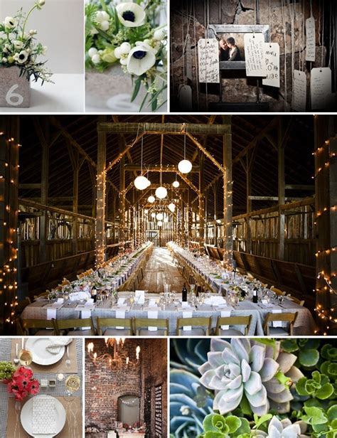 Industrial Wedding Decor by A Vintage Industrial Coffee Inspired Wedding The