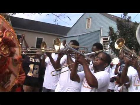 Band For Darfur by Tbc Brass Band For Sudan 2012 Second Line