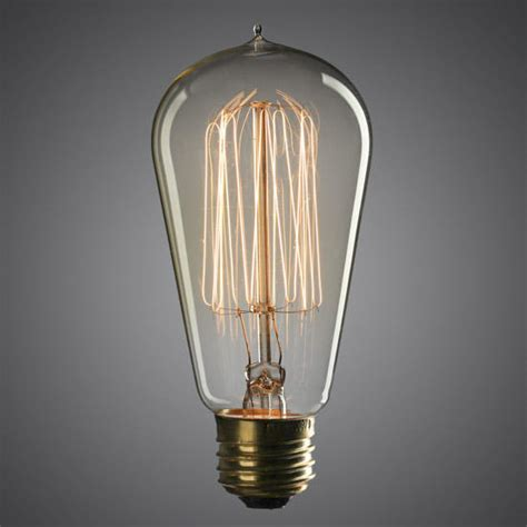 edison style christmas lights 4 75 quot vintage 60 watt edison style light bulb light bulbs decorative bulbs lights l kits