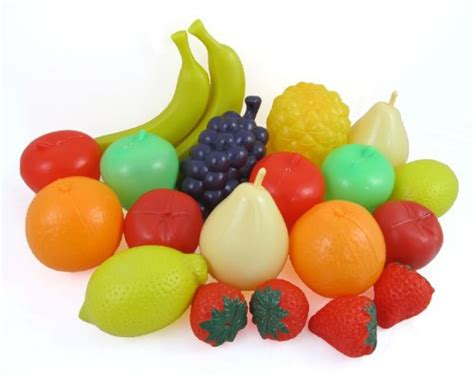 play food sized bag of fruits play food playset for playsets