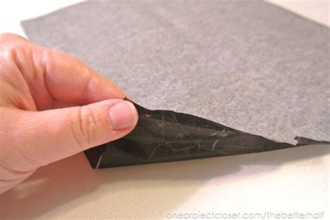 Make Carbon Paper - diy deer the easy way one project closer