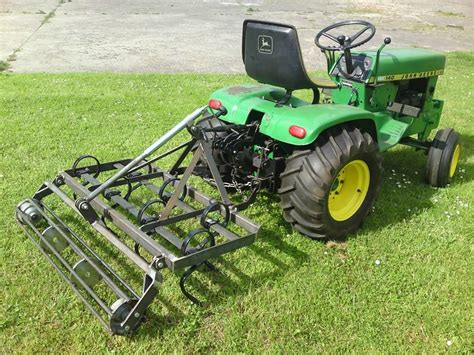 garden tractor attachments deere 140 with chisel plow jd 140 s more and tractor ideas
