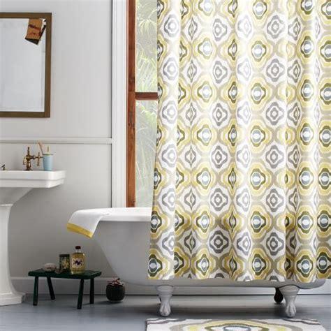 ikat curtains west elm floral ikat shower curtain west elm