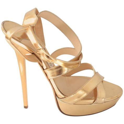 Wedges V Layla jimmy choo gold sandals 28 images jimmy choo layla sandals in gold metallic lyst jimmy choo