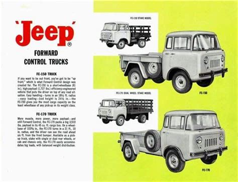 jeep print ads 172 best jeep fc 150 images on pinterest jeep truck