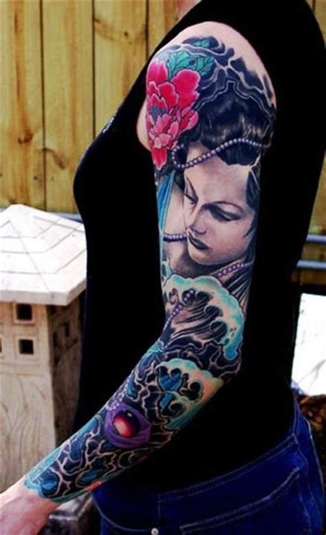 japanese girl tattoo japanese sleeve tattoos for www pixshark