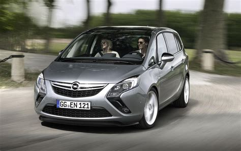 2014 Opel Zafira Tourer Details And Photos Machinespider Com