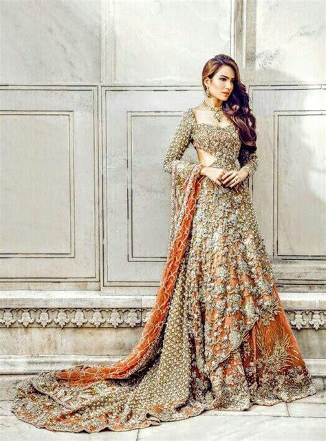 pakistani bridal lehenga designs styles pictures