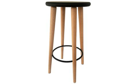 Tabouret Bar Bois Design by Tabouret Bar Bois Design Industriel Noir H 234 Tre Massif