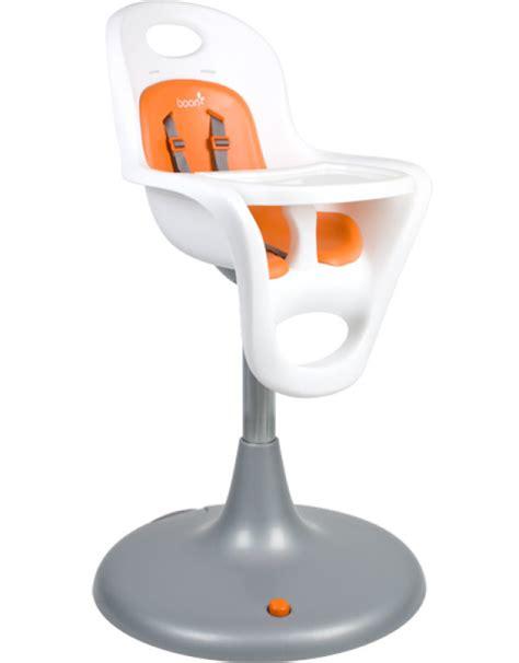 Chaise Haute Orange by Boon Chaise Haute Orange Blanche Flair Doudouplanet