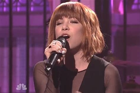 carly rae jepsen snl carly rae jepsen performs i really like you and all