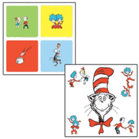 cat in the hat wall stickers dr seuss cat in the hat wall stickers