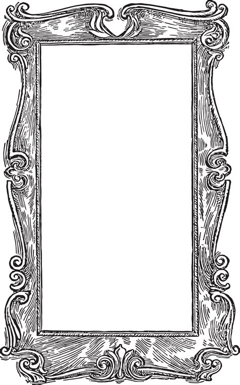 frame clipart best picture frame clip 16789 clipartion