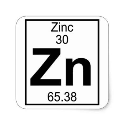 Periodic Table Zn by Zinc Gifts On Zazzle