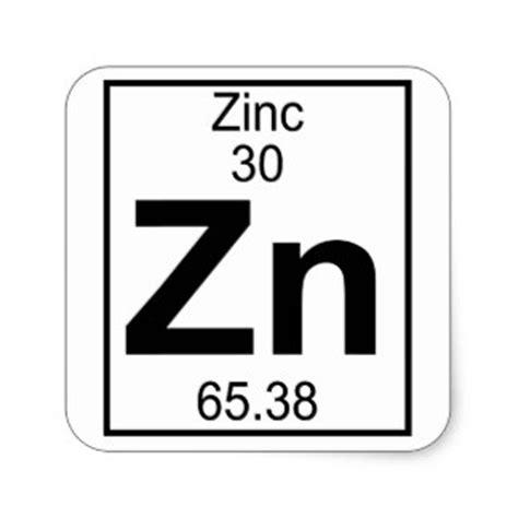 58 element zinc stickers and element zinc sticker designs