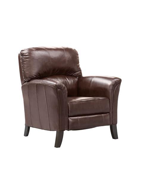elran leather recliner elran h0202 recliner room concepts