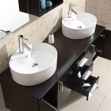 59 bathroom vanity double sink 59 quot enya double sink vanity bathgems com