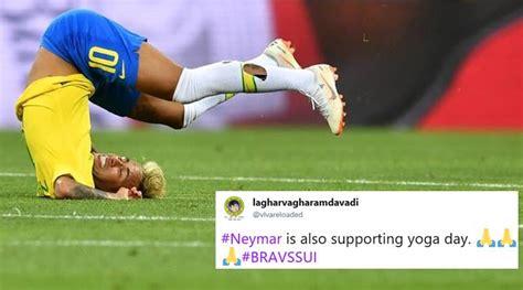 fifa world cup 2018 neymar s performance during brazil vs