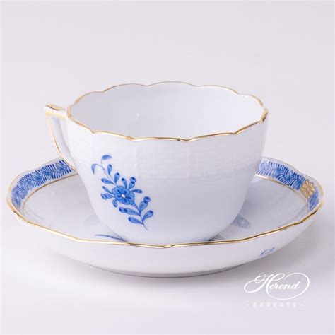 Tea Cup 5 by Tea Cup Apponyi Blue Herend Experts