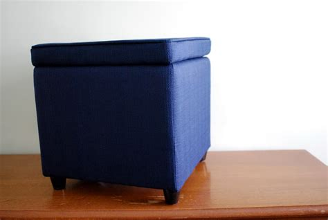 blue storage ottoman navy blue storage ottoman home design ideas
