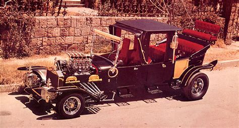 Muster Mobile Retro Wednesday George Barris Of The Barris Brothers Superradnow