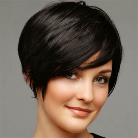 short jaircuts for full face women 50 remarkable short haircuts for round faces hair motive