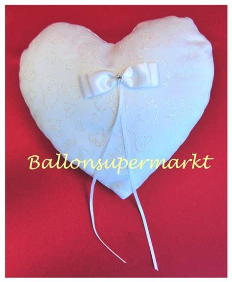 hochzeitsartikel shop ballonsupermarkt onlineshop de ringkissen hochzeit wei 223