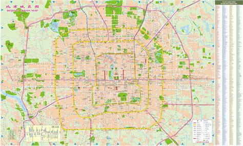 map city of maps of beijing detailed map of beijing city in