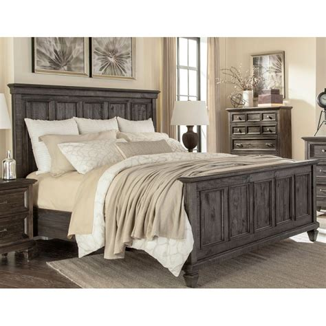 Mcm California King Bedroom Set by Classic Charcoal Gray California King Bed Calistoga Rc