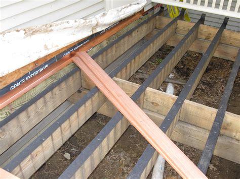 Patio Joist Deck Building Basics A Concord Carpenter