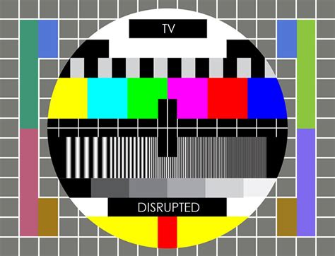 test pattern netflix the disruption of traditional television cord cutting