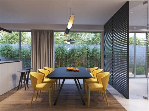 modern villa interior  behance