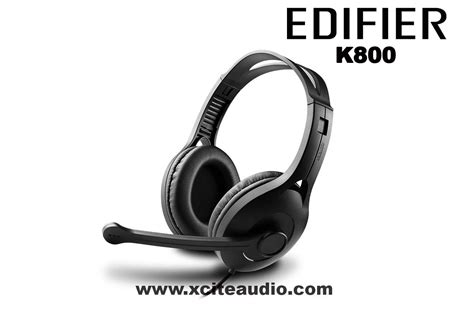 Edifier Communicator Series K800 1 edifier k800 communicator headphone black end 2 24 2017 5
