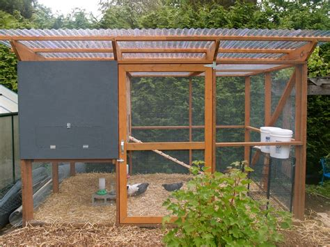 The Chicken Coop Is DoneEnough.   Northwest Edible Life