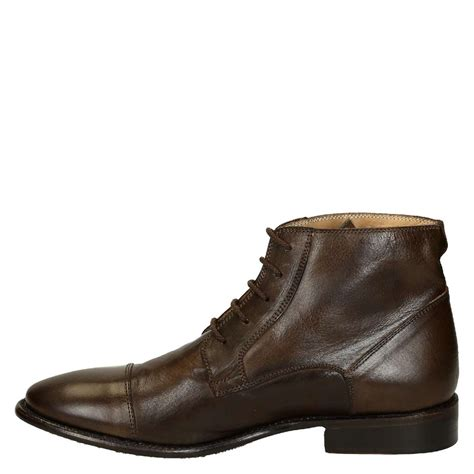 brown mens dress boots brown leather plain cap toe s dress boots