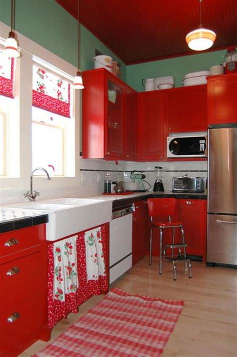 red kitchen paint ideas 80 cool kitchen cabinet paint color ideas