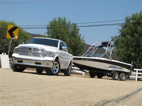 ram 1500 diesel towing picture other 2014 ram 1500 diesel towing boat jpg