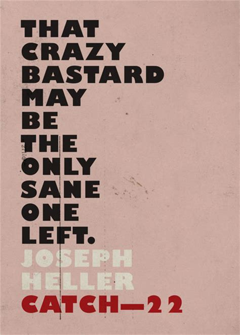 book cover design quote catch 22 by joseph heller
