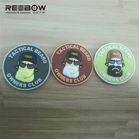 Tactical Beard Brown aliexpress buy tactical beard owners club patches armband swat combat team symbol logo eco