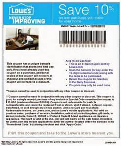 Lowes home improvement coupons january 2015 10 lowes printable