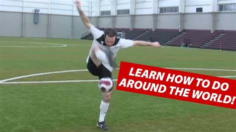 best soccer freestyler in the world how to do the around the world soccer juggling trick