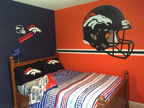 denver broncos bedroom chad s denver broncos bedroom home sweet home ideas